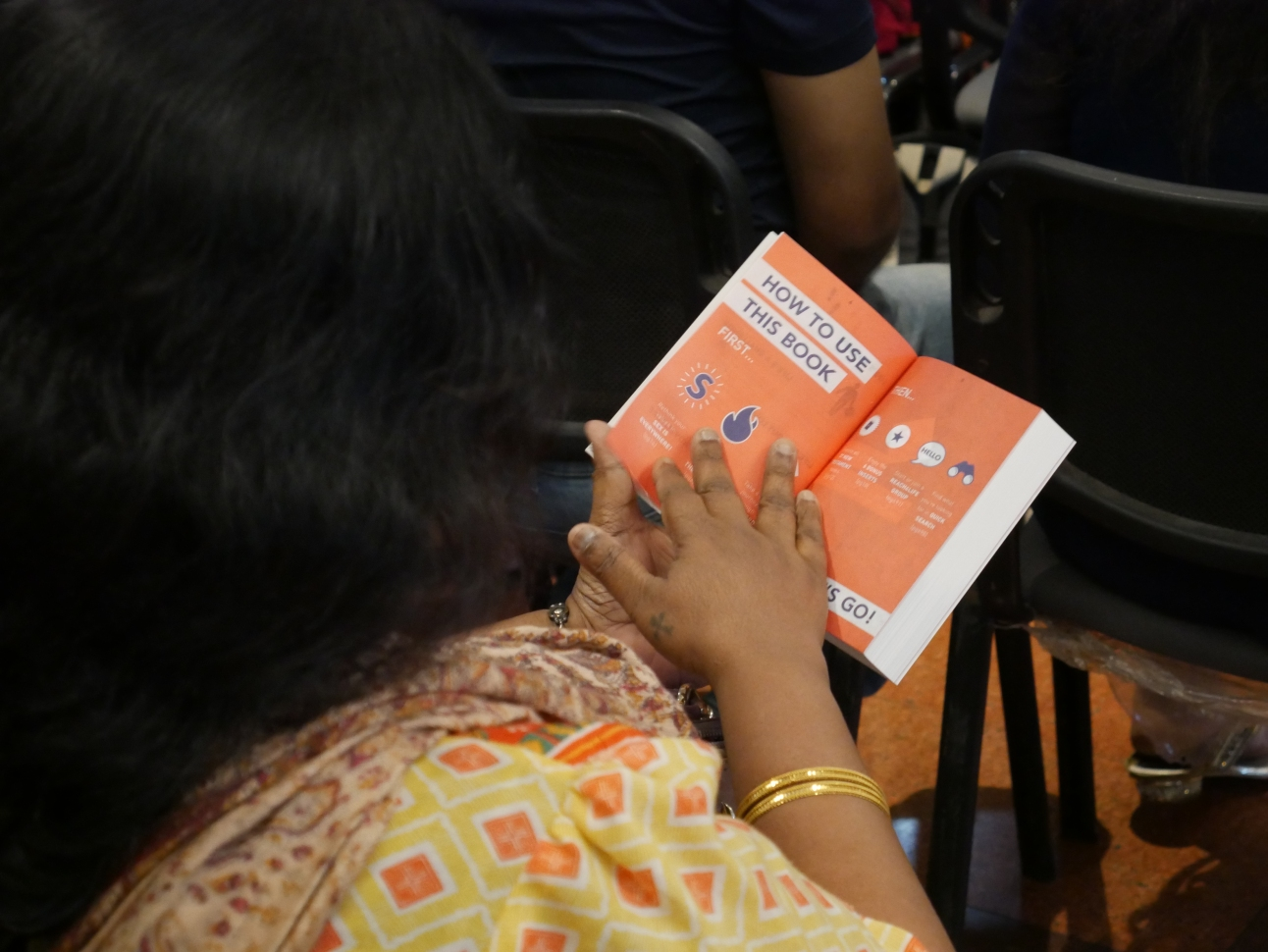 The seminar included materials to dive deep into learning