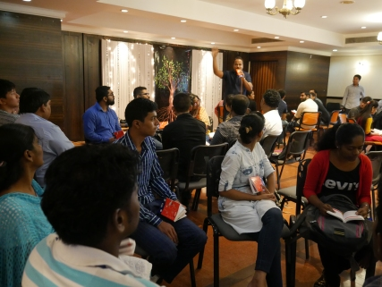 Together with Biblica we hosted the seminar