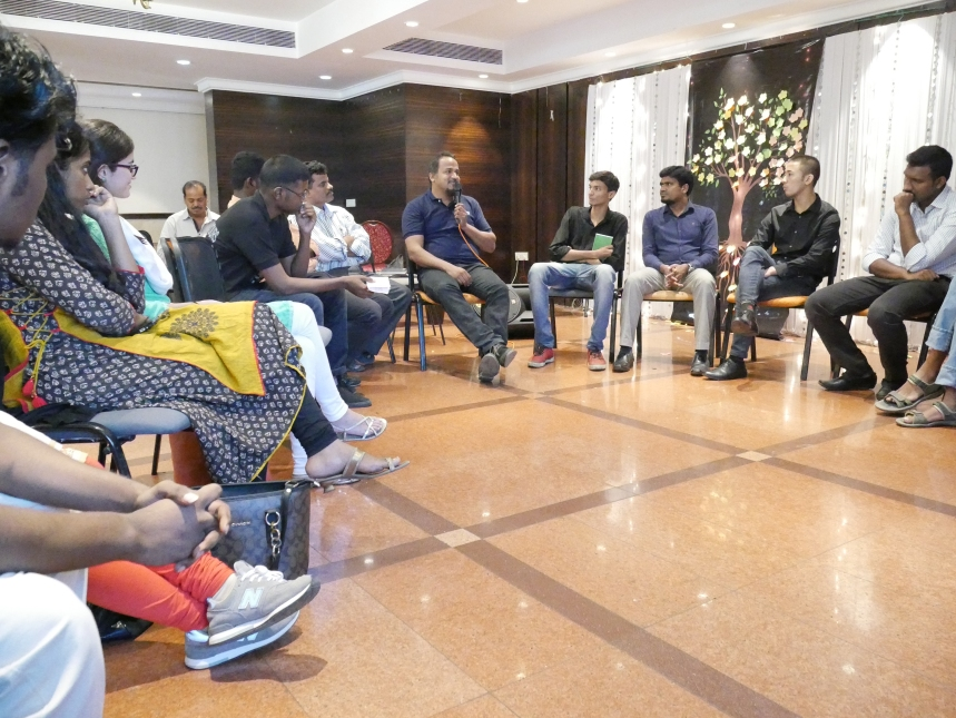 Around 50+ youngsters actively participated
